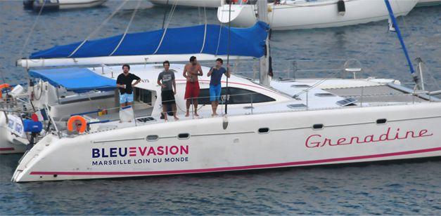 bateau avec skipper